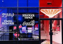 Coca Cola Stranger Things Friends Central Perk