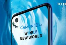 tecno camon 12 air